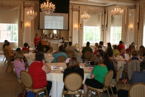 Main Street professionals and volunteers gathered at Winchester's historic Wyndham George Washington Hotel.