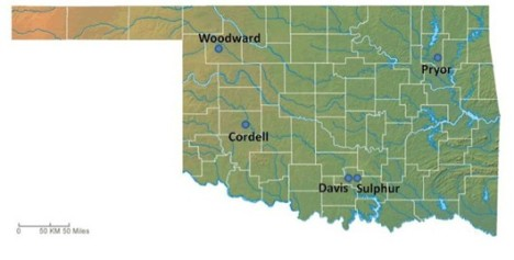 Economic restructuring in five Oklahoma towns built from existing assets to support entrepreneurial climates.