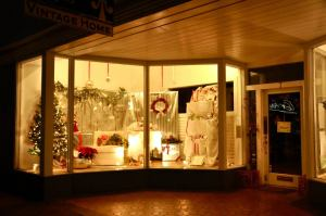 staunton holiday window - Vintage Wedding Gifts