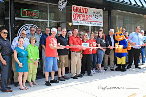 Business opening in Marion's Main Street District.