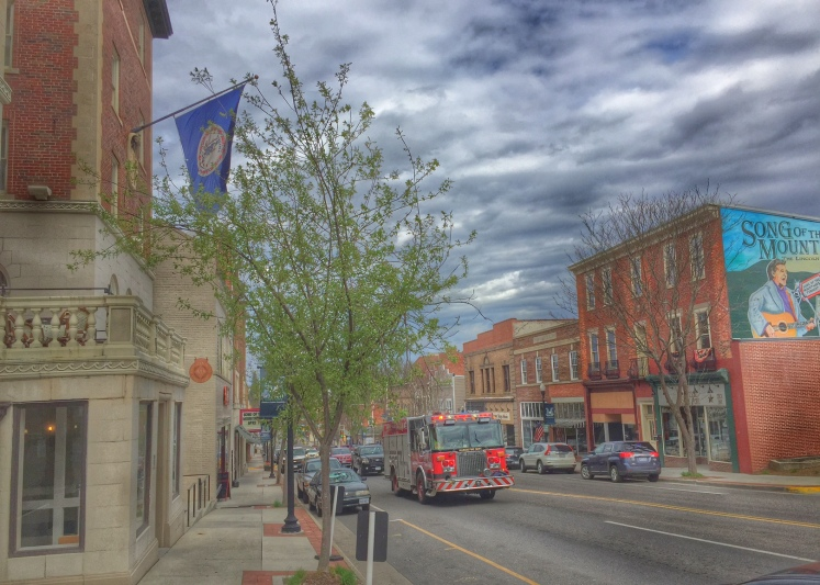 Downtown Marion. Photo credit: Ken Heath