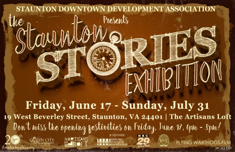 Staunton Stories Exhibit Graphic