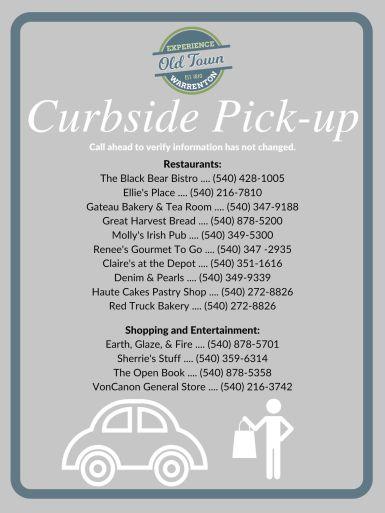 Curbside Pickup (Warrenton)