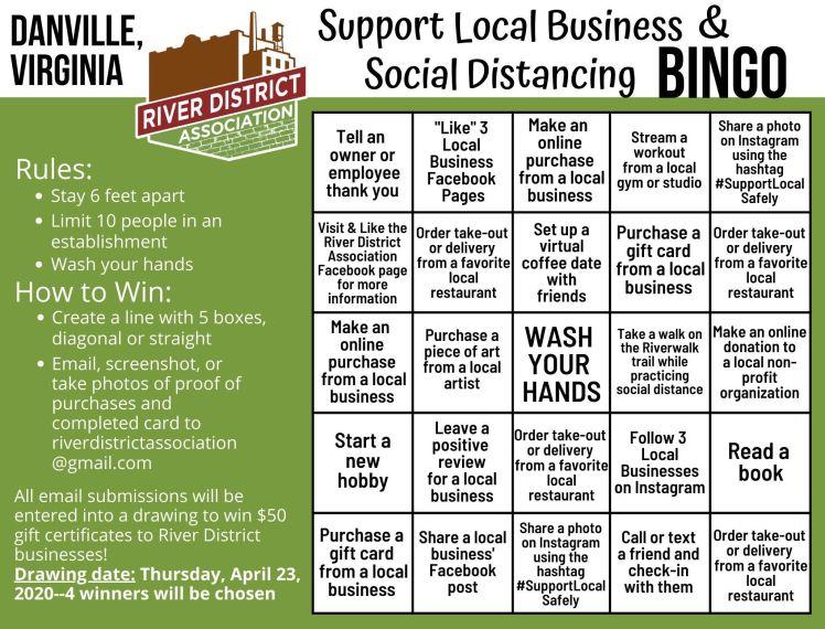 Support Local (Danville Bingo)